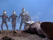 Ultra Brothers and Ultraman Leo