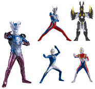 Ultraman saga set