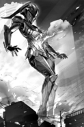Ultraman F Mech