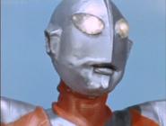 Ultraman's face type A close