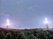 Imitation Agul and Ultraman Agul had a duel of Photon Crushers