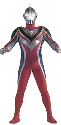Ultraman Gaia Supreme Version Render