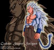Gohan Super Saiyan V by NeDan89