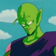 Piccolo preparing to battle the Saiyans