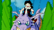 Gohan and his dragon