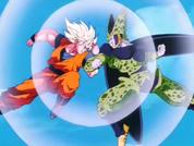 FPSSJ Goku vs Cell
