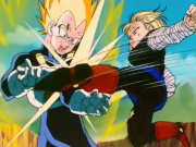 Vegeta Broken Arm