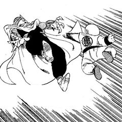 Piccolo During his fight with Krillin.