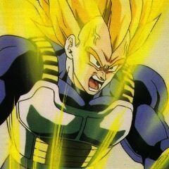 Ascended Super Saiyan Vegeta!