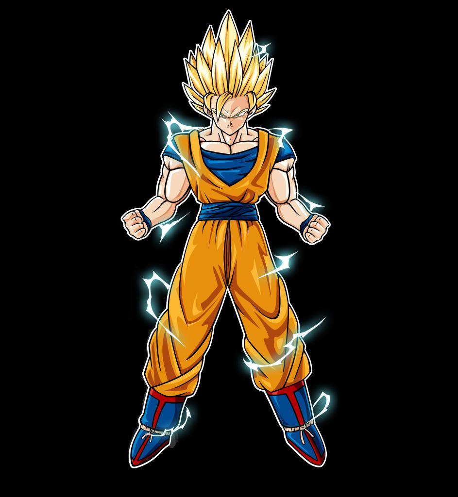 Image - Super saiyan 2 goku.jpg | Ultra Dragon Ball Wiki ...