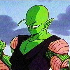 Piccolo getting ready to fight Dr. Gero