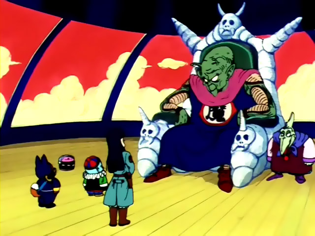 Image result for king piccolo with the pilaf gang