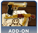 Gold weapons