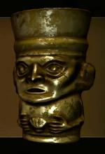 Golden Inca Vessel