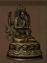 File:Bronze Chenrezig Statue.PNG