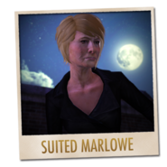 Suited Marlowe multiplayer card