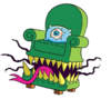Armchair monster