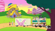 Uncle Grandpa, Belly Bag, and The Easter Bunny in Uncle Easter 18