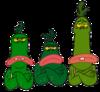 Grumpy dinosaurs