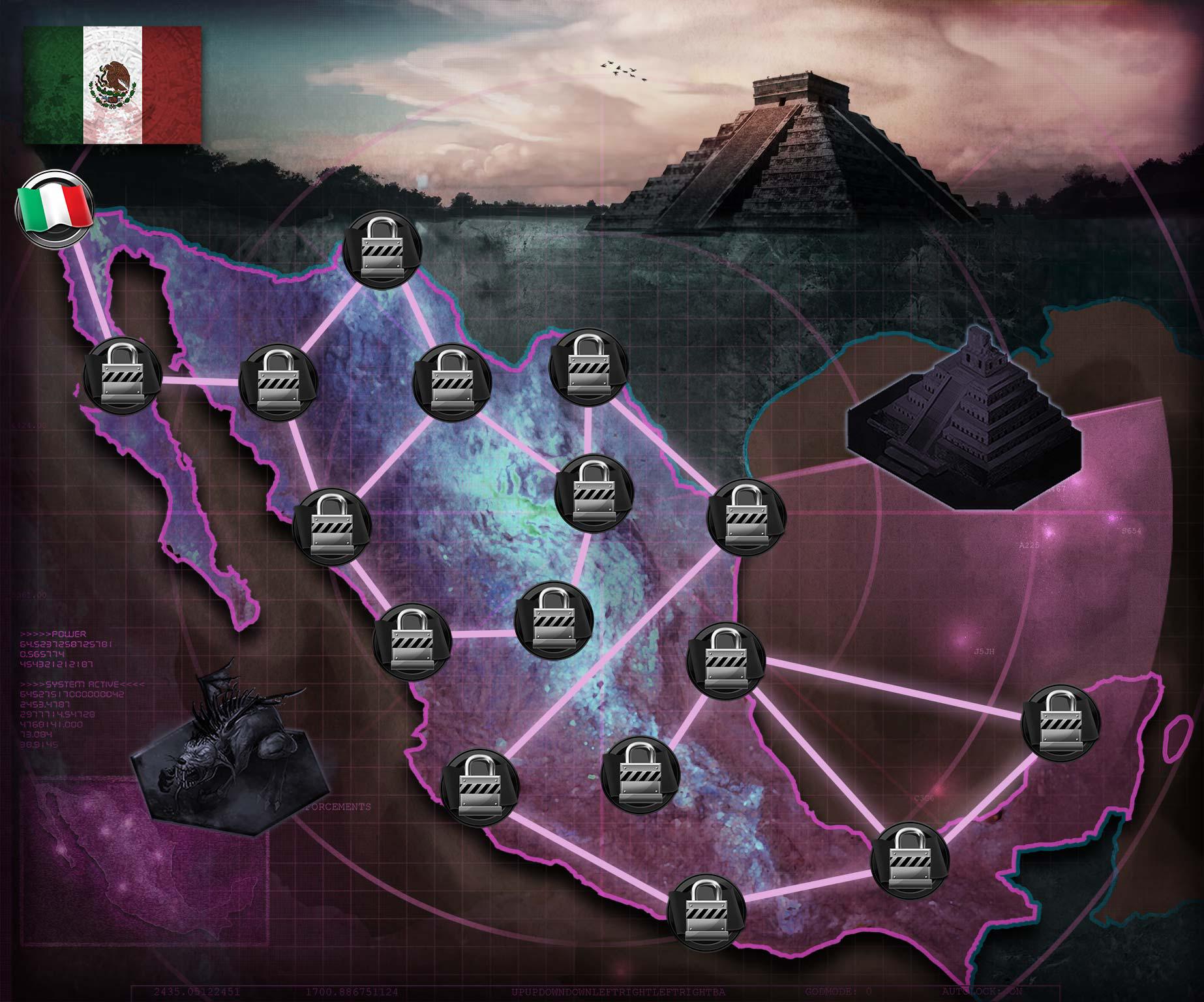 Velociraptor Underworld Empire District mexico