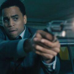 Sebastian with a Taurus Judge revolver.