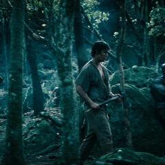 Followers of Lucian wielding axes