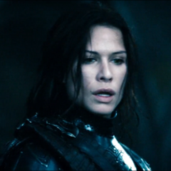 Sonja in <i>Rise of the Lycans</i>.