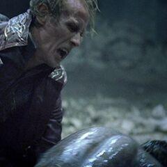 Viktor attacks Michael.