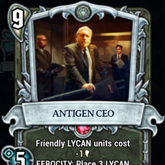 Antigen's CEO, seen in the <a href=