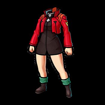 Gear-Misato's Clothes Render