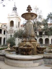 Courtyard of Pasadena City Hall