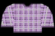Plaid Purple Light Shirt