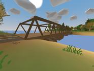 Liberation Bridge itself
