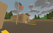 Olympia Military Base - building 1