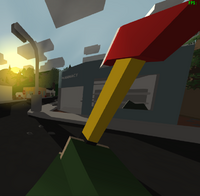 how to get an axe in unturned