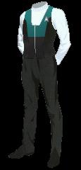 Uniform Vest Admiral Blue