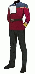 Uniform dress red admiral