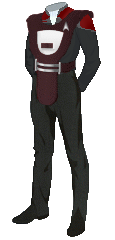 Uniform Security Officer Red