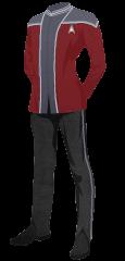 Uniform Steward Red