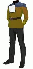 Uniform dress gold captain
