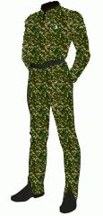 Uniform camo pfc