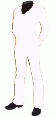 Uniform utility white cadet3