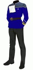 Uniform dress blue vice admiral