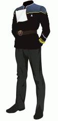 Uniform dress black rear admiral
