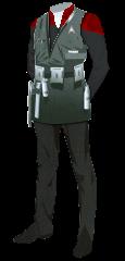 Uniform Engineer Admiral Red