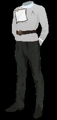 Uniform Dress Officer White