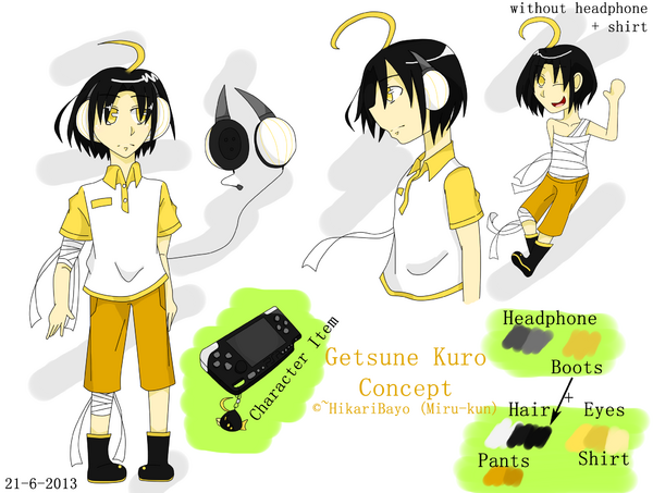 Getsune Kuro Concept