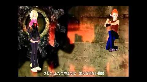 (utau cover) 見えない黒に堕ちてゆけ Koene Shiho & RoberTeto Esp
