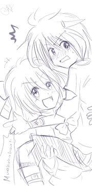 Chisa and Kazu