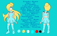 Akane english reference sheet